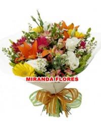 01. Bouquet com Flores do Campo  MÉDIO